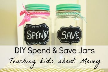 Spend and save jars
